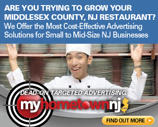 Chinese Restaurant Advertising Opportunities in Middlesex County, New Jersey