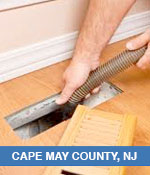 Air Duct Cleaning Services In Cape May County, NJ