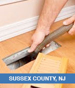 Air Duct Cleaning Services In Sussex County, NJ