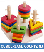 Toy and Hobby Shops in Cumberland County, NJ