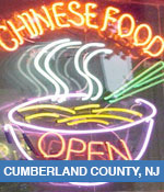 Chinese Restaurants In Cumberland County, NJ