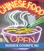 Chinese Restaurants In Sussex County, NJ