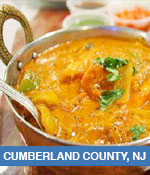 Indian Restaurants In Cumberland County, NJ