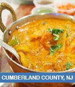 Indian Restaurants In Cumberland County, NJ