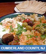 Middle Eastern Restaurants In Cumberland County, NJ
