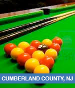 Pool and Billiards Halls In Cumberland County, NJ