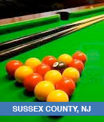 Pool and Billiards Halls In Sussex County, NJ