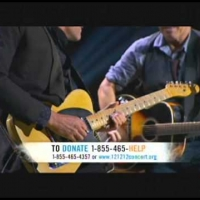 Full Bon Jovi and Bruce Springsteen: You Can't Go Home 121212concert Sandy